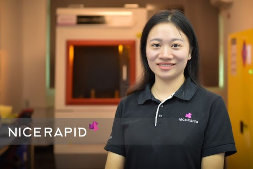 Monica | Sales Manager - Rapid Prototyping