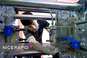check the injection molding machines